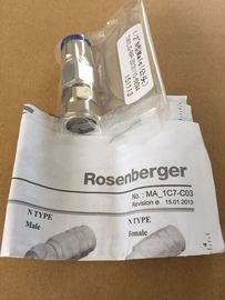 "Rosenberger RF Coaxial  Connector N male for 1/2"" flexible cable"