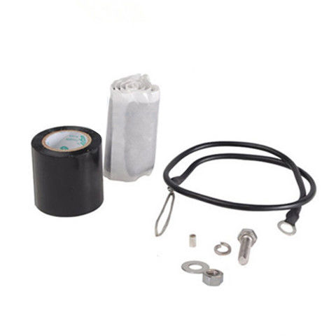 Satu Lubang Lug Kecil Universal Grounding Kit Untuk Coaxial Cable Coax Accessories