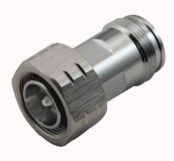 Factory Price RF Coaxial Connector 4.3/10 Mini DIN male to 4.3/10 Mini DIN female Adapter